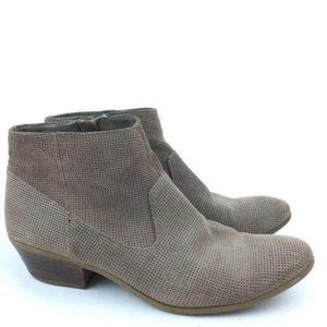 Steve Madden Ankle Bootie 7 Purf Tan Suede Western